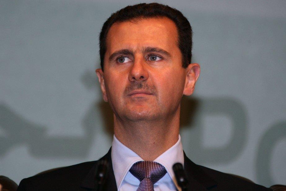 Le président syrien Bachar Al-Assad.... (PHOTO LOUAI BESHARA, ARCHIVES AFP)