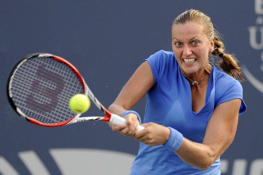 Petra Kvitova est la championne en titre de... (Photo Fred Beckham, AP)