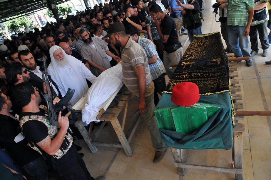 Un deuil national a été décrété au Liban... (Photo: AFP)