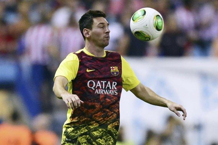 Lionel Messi est blessé à une cuisse.... (Photo Javier Soriano, archives AFP)