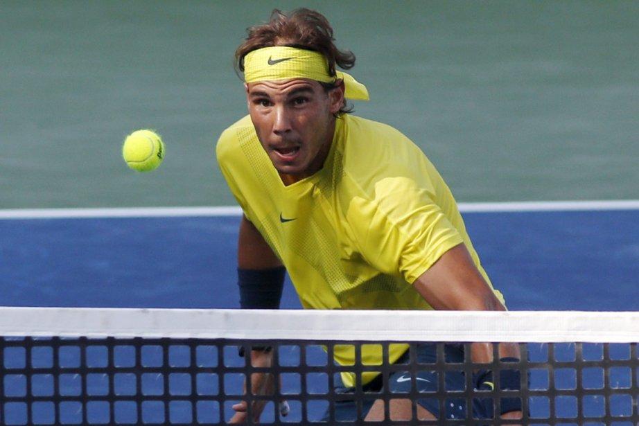 De retour au deuxième rang mondial, Nadal peut... (Photo David Kohl, archives AP)
