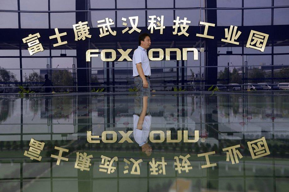 Foxconn Technology, également connu sous le nom de... (PHOTO REUTERS)