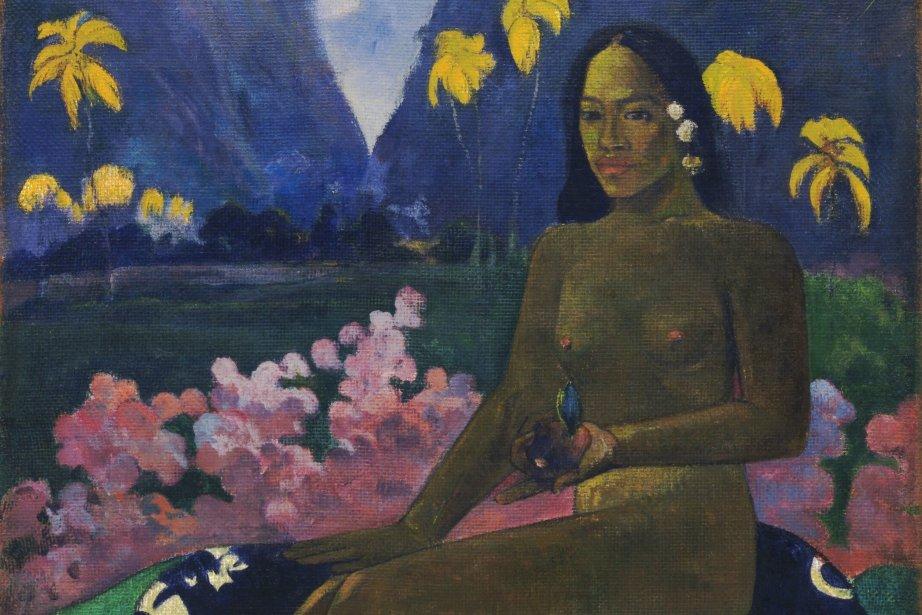 Paul Gauguin, Le germe des Areois, 1892.... (Photo fournie par The Museum of Modern Art, New York)