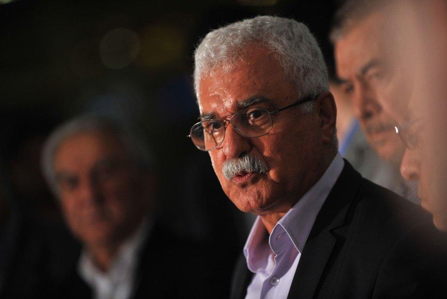 George Sabra,président du Conseil national syrien (CNS)....
