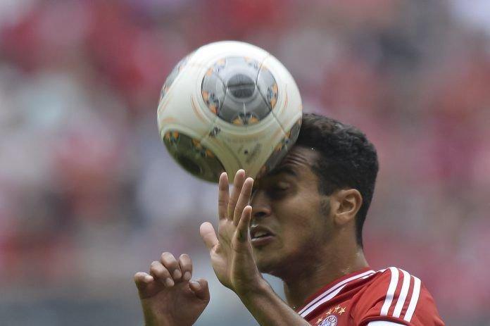 Thiago Alcantara... (Photo Guenter Schiffmann, AFP)