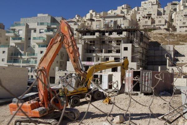 Une colonie juive, près de Bethléem.... (Photo AFP)