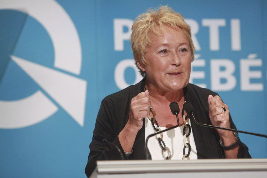 Pauline Marois... (Photo Francis Vachon, La Presse Canadienne)