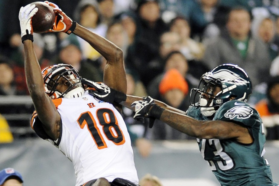 A.J. Green... (Photo Michael Perez, archives AP)