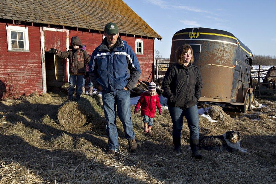 Nouvellement propriétaire d'une ferme de 320 acres en... (PHOTO JASON FRANSON, COLLABORATION SPÉCIALE)