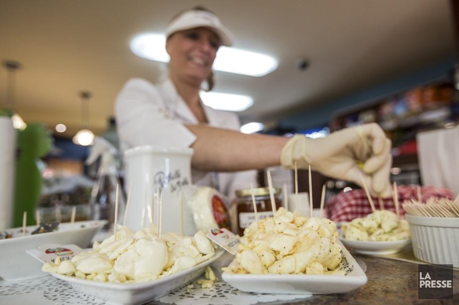 La célèbre fromagerie des Basques, reconnue pour son... (PHOTO EDOUARD PLANTE-FRÉCHETTE, LA PRESSE)