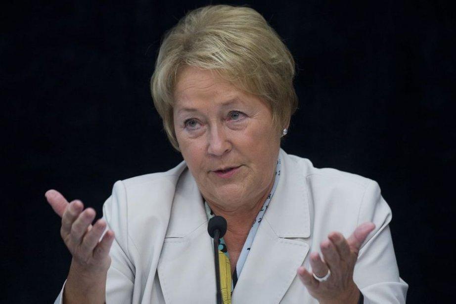 La chef péquiste Pauline Marois.... (Photo La Presse Canadienne)