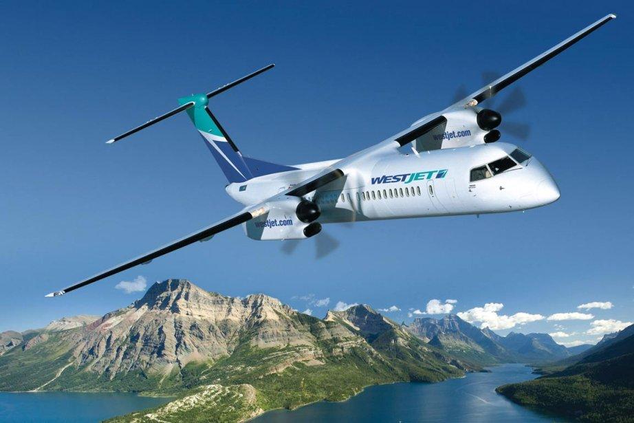 WestJet, qui a son siège à Calgary, a... (Photo La Presse Canadienne, Bombardier)