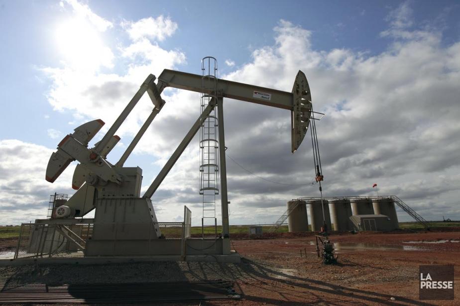 Le baril de «light sweet crude» (WTI) pour... (Photo Jim Wilson, The New York Times)