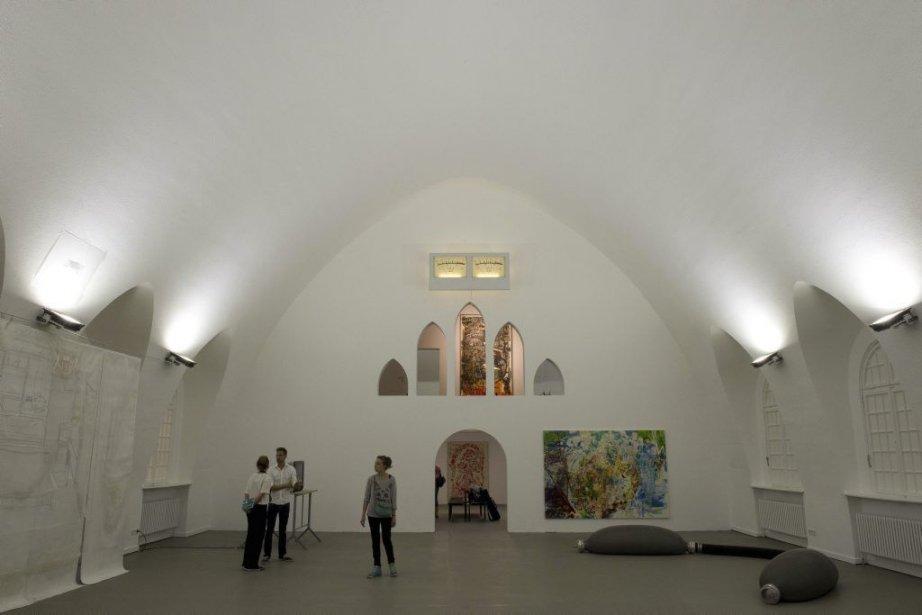 Les installations de quatorze artistes contemporains occupent désormais... (Photo AFP)
