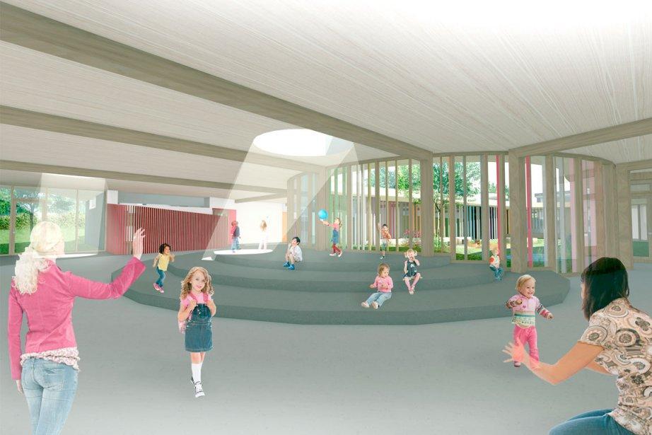 Un cpe pour tous les enfants sophie grenier h roux architecture - Architecture pour enfants ...