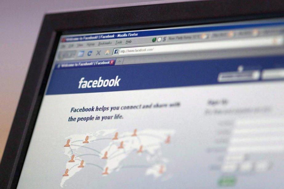 Facebook a indiqué que le site fautif, Ionecha.com,... (Photo Adrian Wyld, La Presse Canadienne)