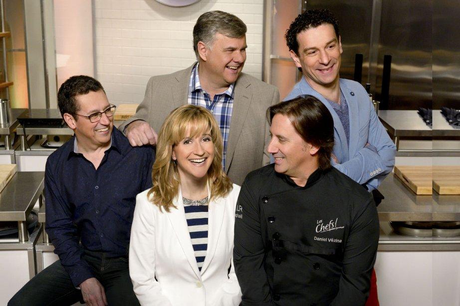 Normand Laprise, Jean-Luc Boulay, Pasquale Vari, Élyse Marquis... (Photo: fournie par Radio-Canada)