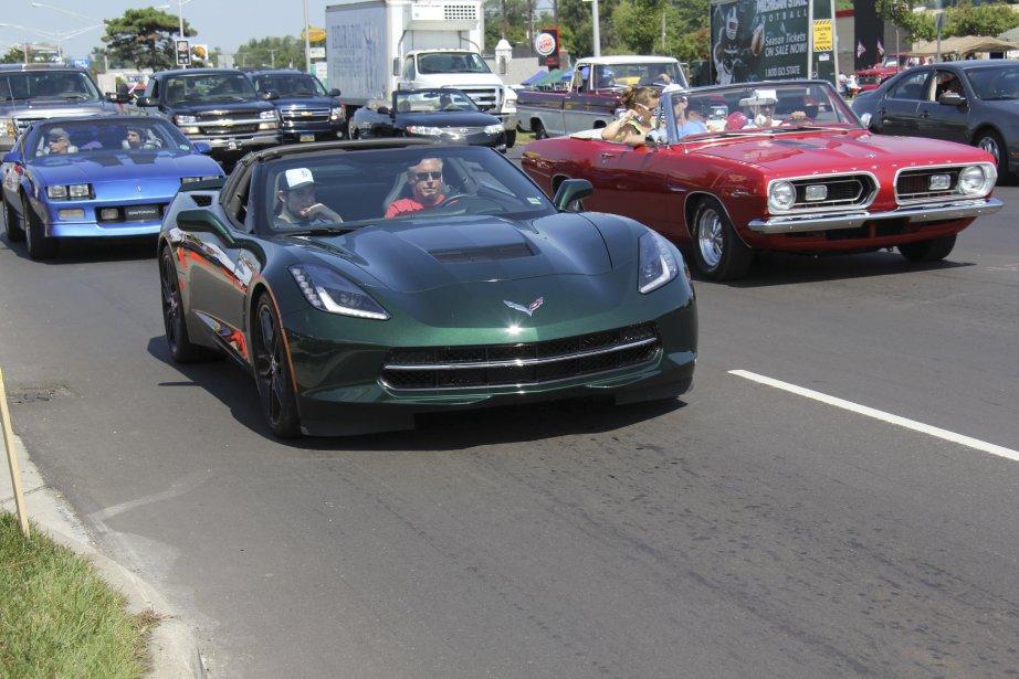 Même les nouvelles Corvette 2014 étaient de la partie. (Photo Éric Descarries, collaboration spéciale)