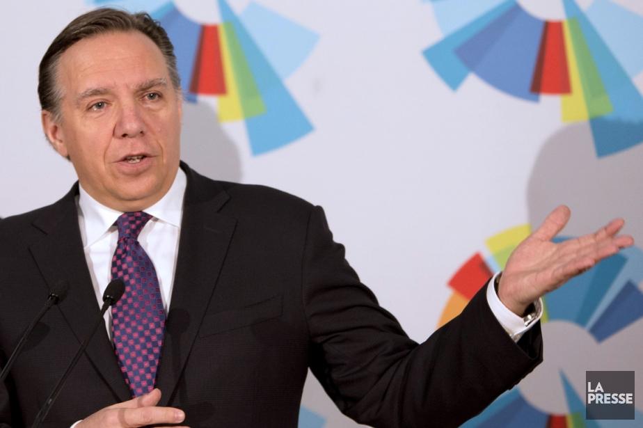 François Legault, chef de la Coalition avenir Québec.... (Photo Alain Roberge, archives La Presse)