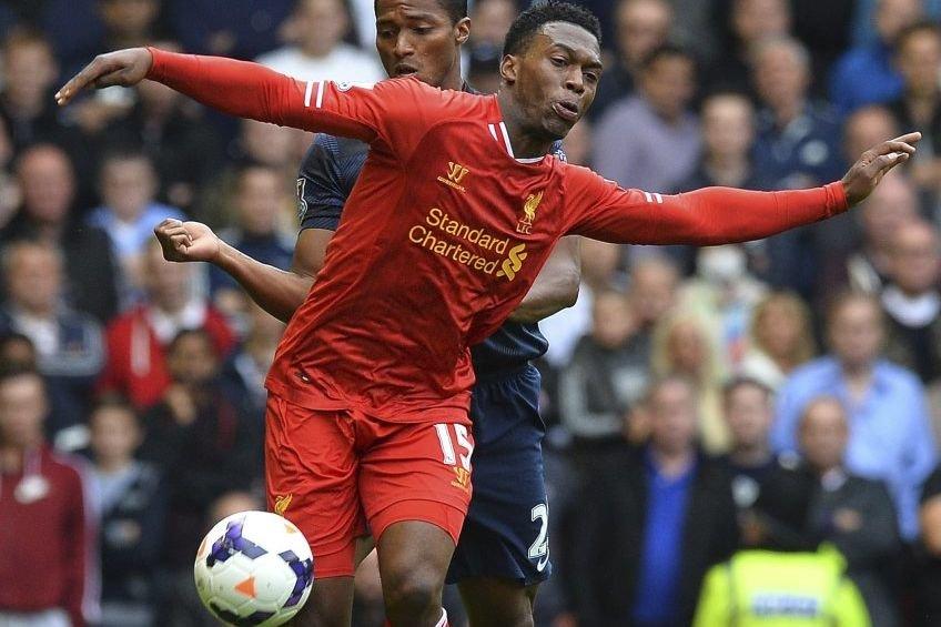 L'attaquantDaniel Sturridge a inscrit son troisième but en... (Photo Paul Ellis, AFP)
