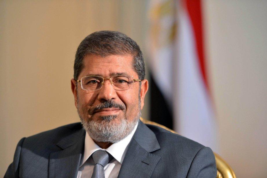 L'ancien président égyptien Mohamed Morsi.... (PHOTO KHALED DESOUKI, AFP)