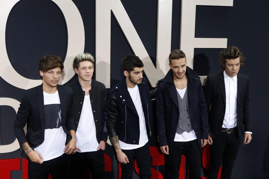 Les membres de One Direction... (Photo Lucas Jackson, Reuters)