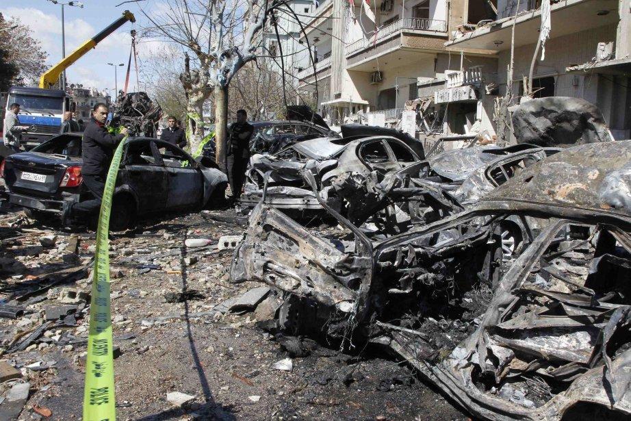 Selon l'OSDH, les violences en Syrie ont fait... (Photo Khaled al-Hariri, archives Reuters)
