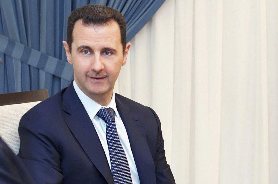 Le président syrien Bachar al-Assad... (Photo Reuters)