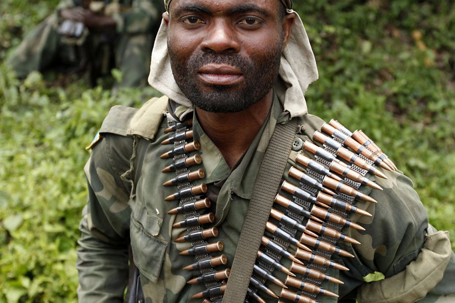 Un soldat de l'armée congolaise.... (PHOTO Thomas Mukoya, REUTERS)