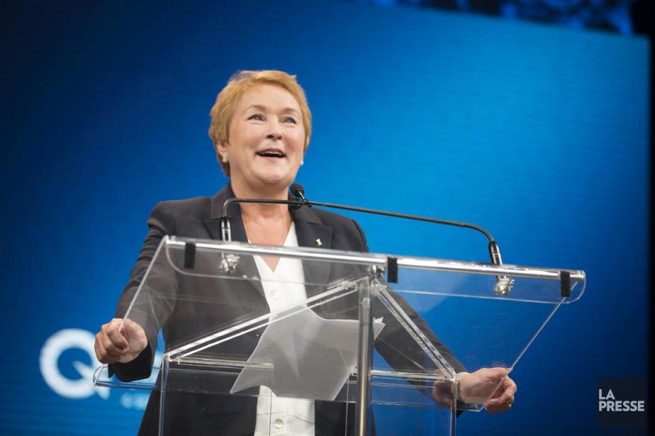 L'ex-première ministre du Québec, Pauline Marois, à la... (PHOTO OLIVIER PONTBRIAND, ARCHIVES LA PRESSE)