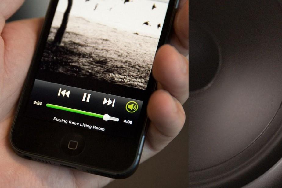 Spotify, présent dans 64 pays, est accusé par... (PHOTO SPOTIFY)