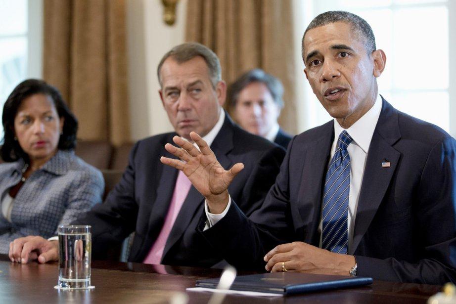 Le président républicain de la Chambre des représentants,... (PHOTO CAROLYN KASTER, Associated Press)