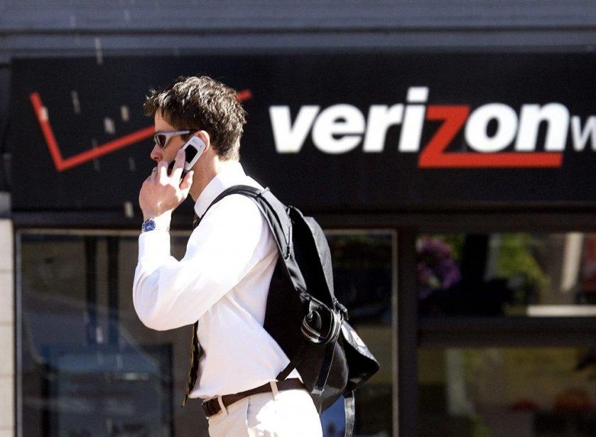 Le géant américain Verizon ne participera vraisemblablement pas... (Photo AP)
