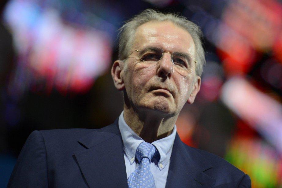 Le président du Comité international olympique, Jacques Rogge.... (Photo Fabrice Coffrini, AFP)