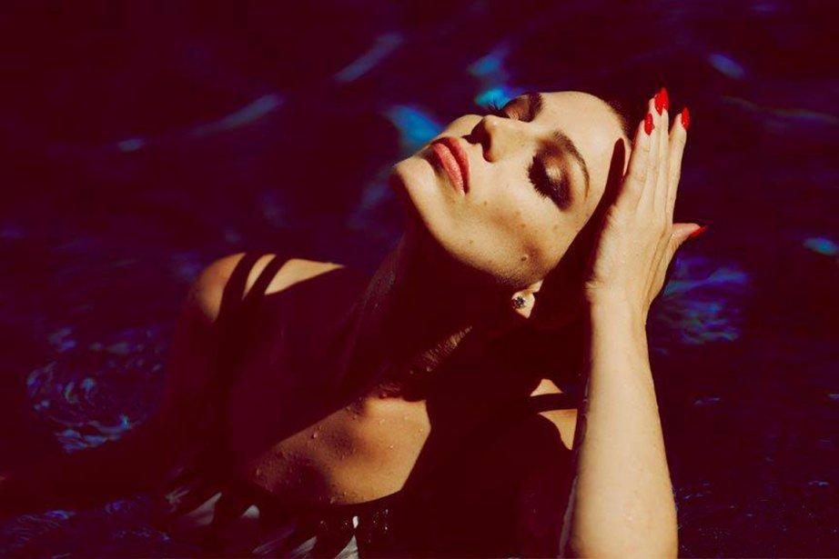 Jessica Paré pour Violet Grey... (Photo fournie par Violet Grey)