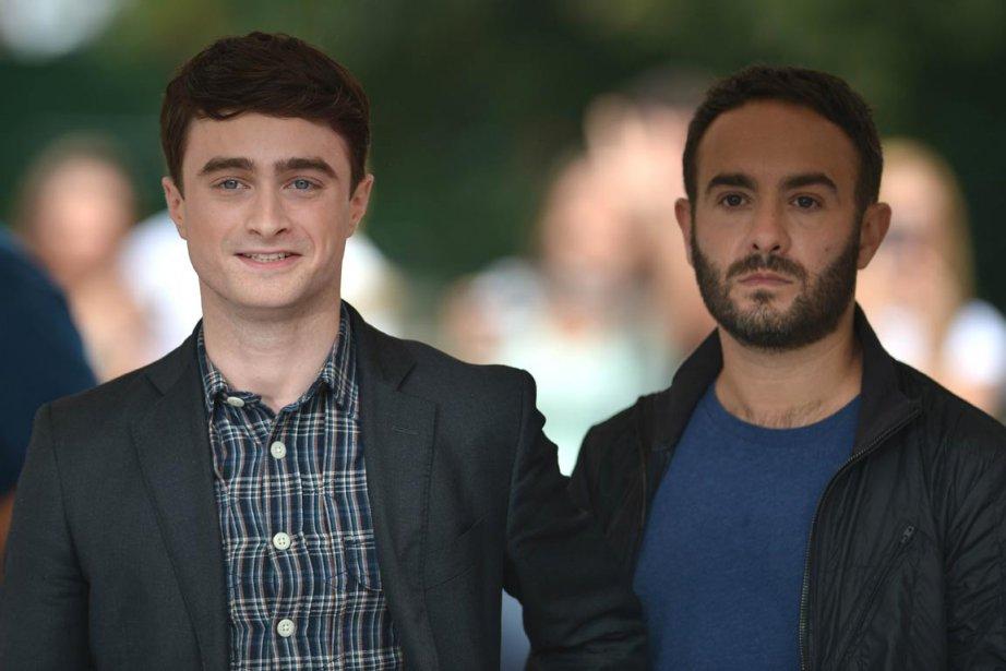 Daniel Radcliffe et le réalisateur John Krokidas. | 3 septembre 2013