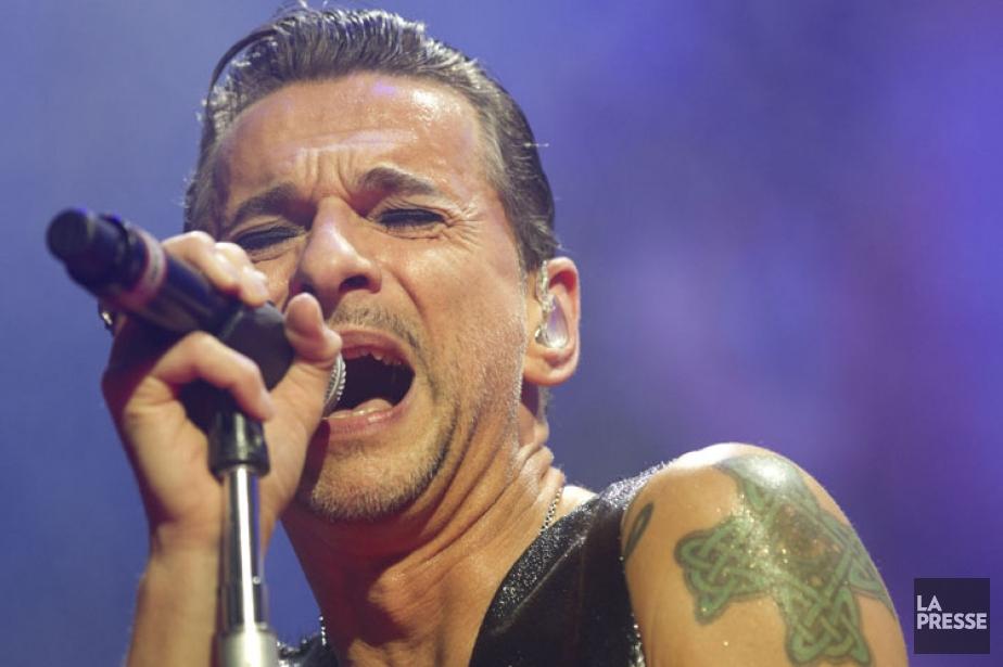 Dave Gahan, chanteur de Depeche Mode.... (Photo: Olivier Jean, archives La Presse)