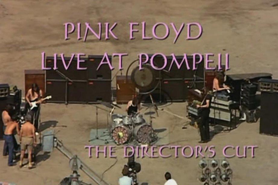 Pink Floyd: Live at Pompeii d'Adrian Maben.... (PHOTO FOURNIE PAR LA PRODUCTION)