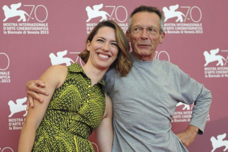 Le réalisateur français Patrice Leconte et l'actrice britannique Rebecca Hall. | 4 septembre 2013