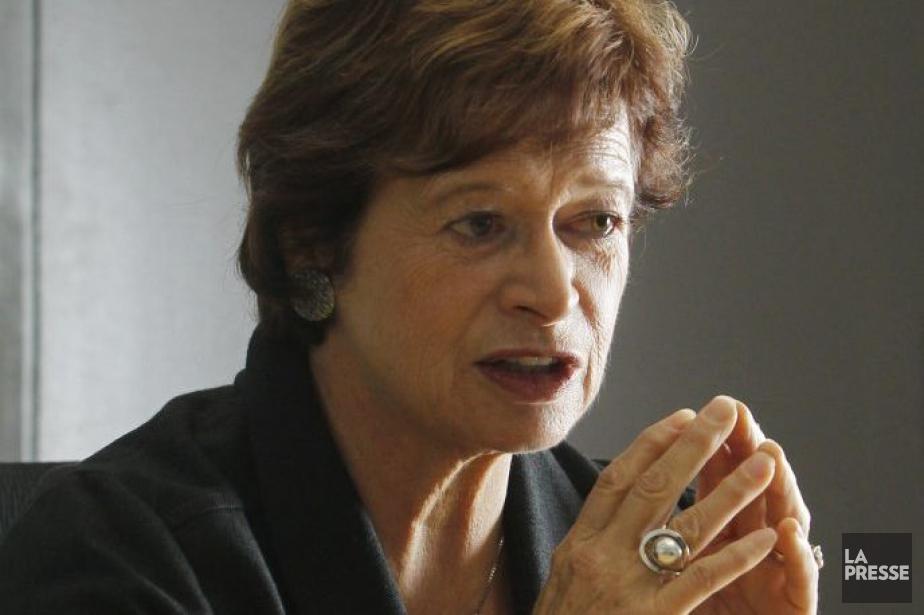 La ministre de l'Éducation, Marie Malavoy.... (PHOTO MARTIN CHAMBERLAND, LA PRESSE)