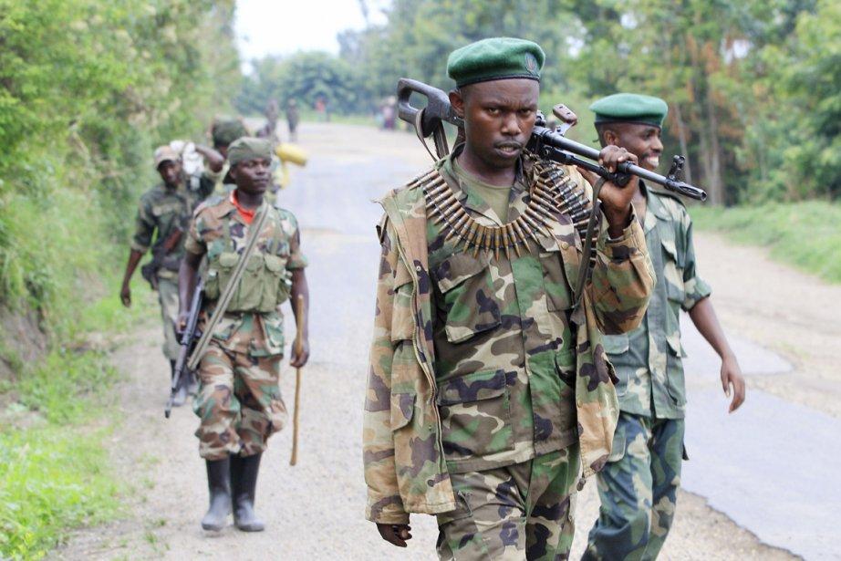 Les rebelles du M23 auraient continué à recruter... (PHOTO JAMES AKENA, ARCHIVES REUTERS)