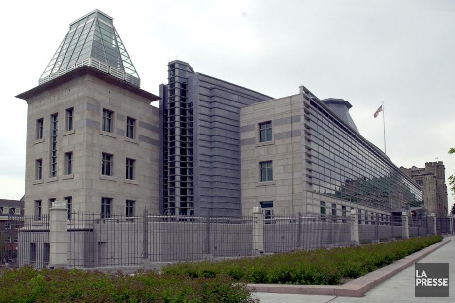 L'ambassade américaine à Ottawa.... (Photo archives Le Droit)