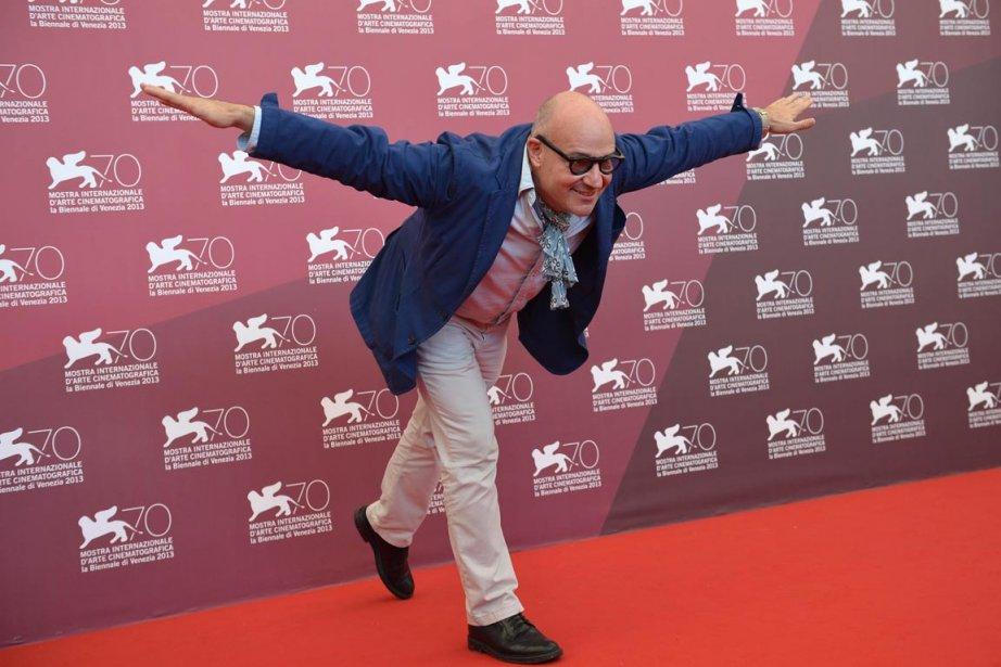 Le réalisateur italien Gianfranco Rosi dont le film «Sacro Gra» et en compétition. | 5 septembre 2013
