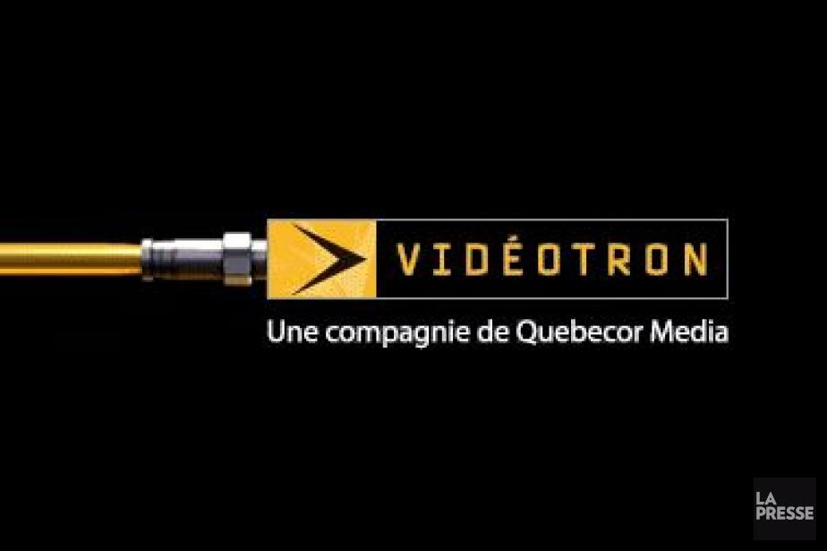 Le logo de Vidéotron...