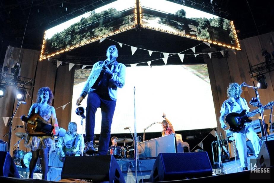 Le nouvel album d'Arcade Fire sortira le 29... (Photo: Bernard Brault, archives La Presse)