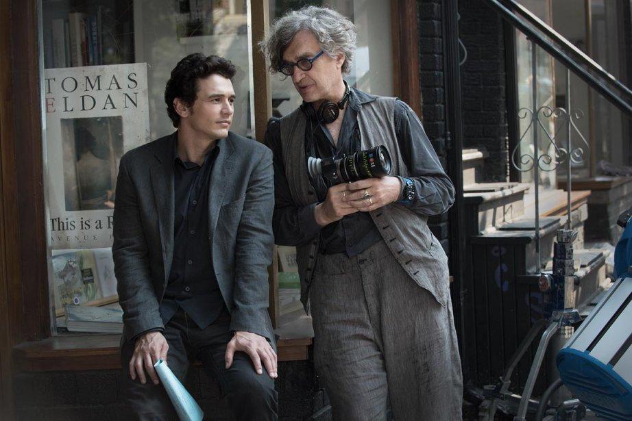 L'acteur James Franco et la réalisateur Wim Wenders... (PHOTO FOURNIE PAR LA PRODUCTION)