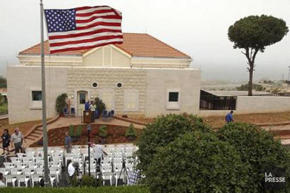 L'ambassade américaine au Liban.... (Photo archives AP)