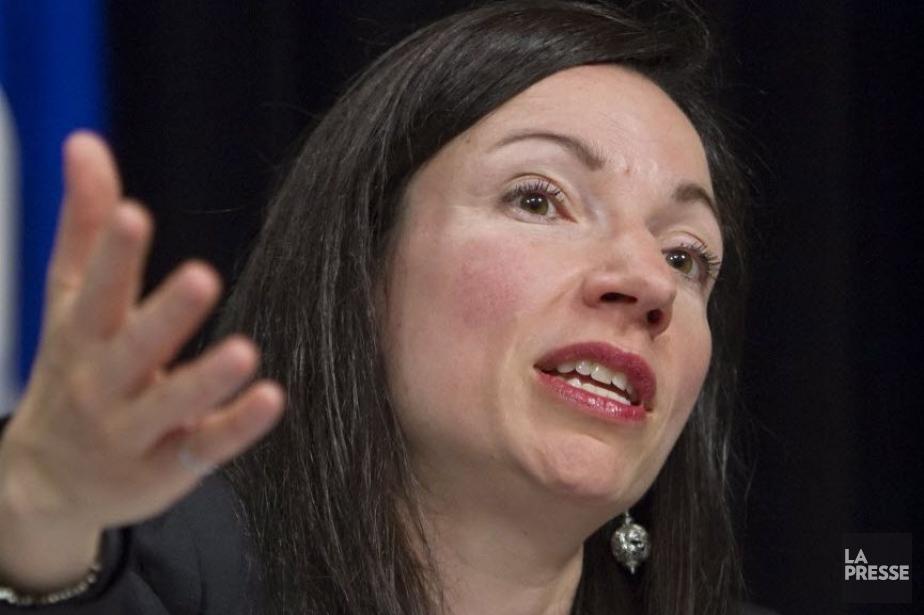 La ministre des Ressources naturelles, Martine Ouellet.... (PHOTO CLÉMENT ALLARD, PC)