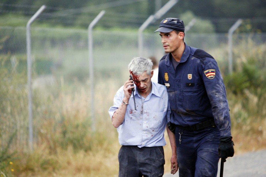 «Mon dieu, mon dieu, pauvres voyageurs. Faites qu'il... (PHOTO OSCAR CORALL, ARCHIVES REUTERS)