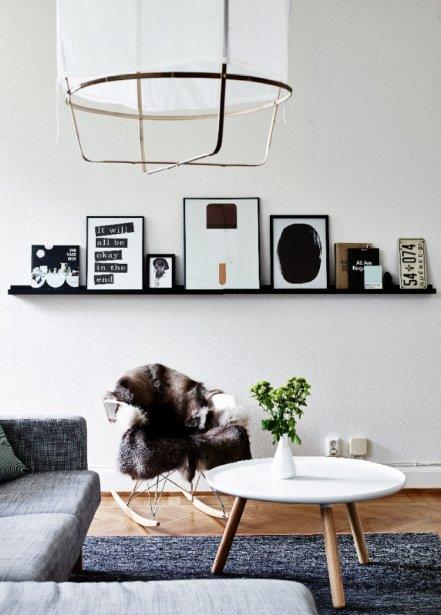 Le coup de coeur IKEA de Geneviève Labbé à la maison? «Probablement notre sofa KARLSTAD chaise longue où on passe plusieurs heures lors des longues journées d'hiver!» (Photo Andrea Papini)